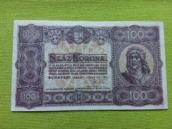 Száz korona 1923 - Nyomdahely nélküli!