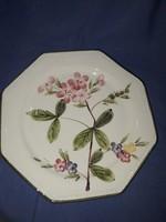 Kerámia(Olasz) tányér jelzett