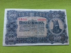 Ötszáz korona 1923