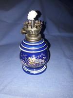 Porcelán (Japán) kis petróleumlámpa