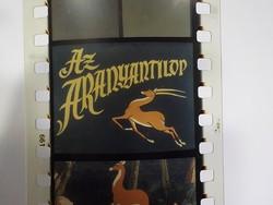 Diafilm : Aranyantilop  1963  Magyar Diafilmgyártó vállalat