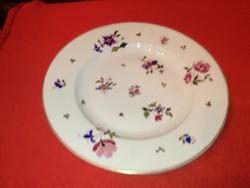 Herendi tányér 1890, szallagos jelzéssel.