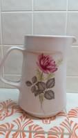 Antik, virágos, porcelán vizes kancsó eladó!