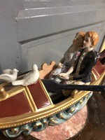 Porcelán hajós pár