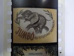 Diafilm : Jumbo a kiselefánt  1963  Magyar Diafilmgyártó vállalat