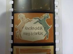 Diafilm : Kecskegidák meg a farkas   1963  Magyar Diafilmgyártó vállalat