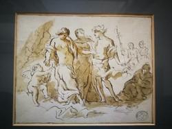 Ismeretlen  művész, British Muzeum copy bélyegzőjével.
