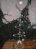 Fém - gyertyatartó,- 182 cm !! fenyő alakú -  hatalmas,- fém, 182 x 55 cm