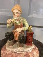 Órás férfi porcelán