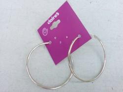 Claire's Aranyszínű karika fülbevaló 5 cm