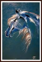 Czinóber - Kék Villám - ( közvetlenül a művésztől ) ( keret nélkül )