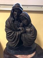 Mária+József+ Jézuska bronz kompozíció