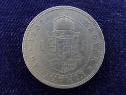 Ferenc József ezüst 1 Forint 1887 KB