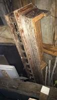 Ritka, 100 éves antik függönykarnis eladó!