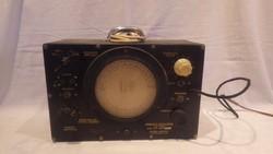 Múzeumi ritkaság Zelenka féle szignál , hangoló oszcillátor