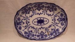 Antik Conway Semi porcelán kék mintás tál