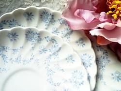 Angol fajansz teás alátét tányérok 5db