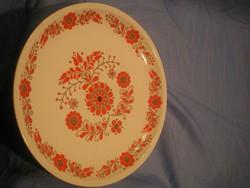 N15 Alföldi porcelán régi  28 cm nagy faltál szép állapotban eladó
