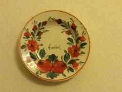 Régi Apátfalvi kis tányér