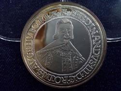 III. Ferdinánd tallérja 1637 - Magyar tallérok utánveretben - Érem Művészeti Intézet