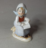 Germany mini porcelán 8 cm