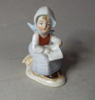 Germany mini porcelán 8 cm