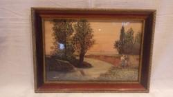 Nyisztor Ilona akvarell festmény