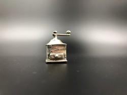 Kávédaráló miniatűr 800-as ezüst