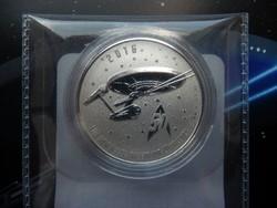 2016 Kanada 25$ Star Trek - 50. évforduló tiszta ezüst érme - Proof (tükörveretes) kivitel