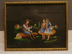 Festmény fekete alappal IV.