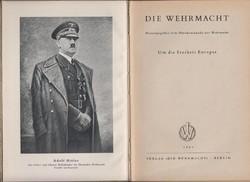 Die Wehrmacht - Eredeti Wehrmach kiadás 1941-ből!  Das Buch des Krieges 1940/41