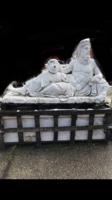 Óriás márvány Zeusz szobor
