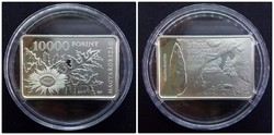 Bükki Nemzeti Park ezüst 10000 Forint PP