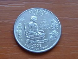 USA 25 CENT 1/4 DOLLÁR 2003 D ALABAMA #