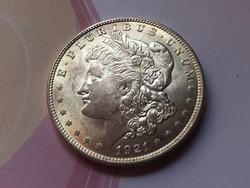 1921 USA ezüst 1 dollár ,26,7 gramm 0,900 gyönyörű karcmentes verdefényes darab