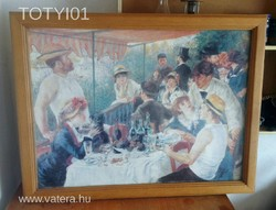 Pierre-Auguste-Renoir:Az evezősök reggelije másolat!!