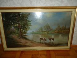 Kloton Péter festmény