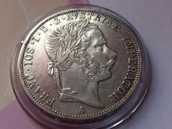 """1869""""A""""RRR ezüst 2 Florin, gyönyörű,karcmentes darab,Extra Ritka!!!"""