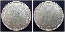 Madonnás ezüst 2 Pengő 1938