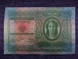 Osztrák-Magyar 100 korona 1912 UNC