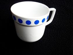 Régi Alföldi pöttyös csésze