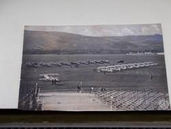 Képeslap Budapest, 1942.Repülőtér  Budaörs