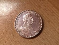 1914 porosz ezüst 3 márka 16,6 gramm