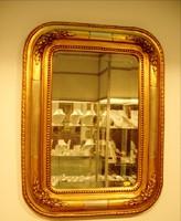 Biedermeier tükör aranyozott keretben csiszolt üveggel