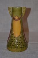 Szecessziós majolika váza  ( DBZ 00107 )