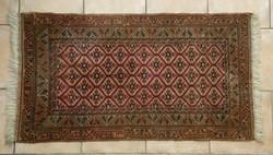 Kézi csomózású iráni szőnyeg, Ritka mintával!