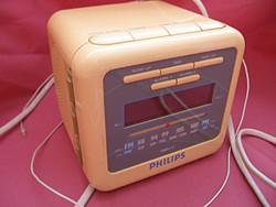 Retro Philips ébresztős rádió