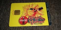 Coca cola Beach House telefonkártya 1997