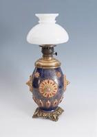 Zsolnay petróleum lámpa