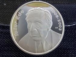 Teller Ede ezüst 5000 Forint 2008 PP